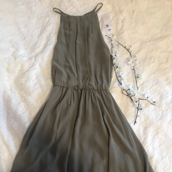 Francesca's Collections Dresses & Skirts - Lush Flawless Solid Dress Francesca's never worn💚
